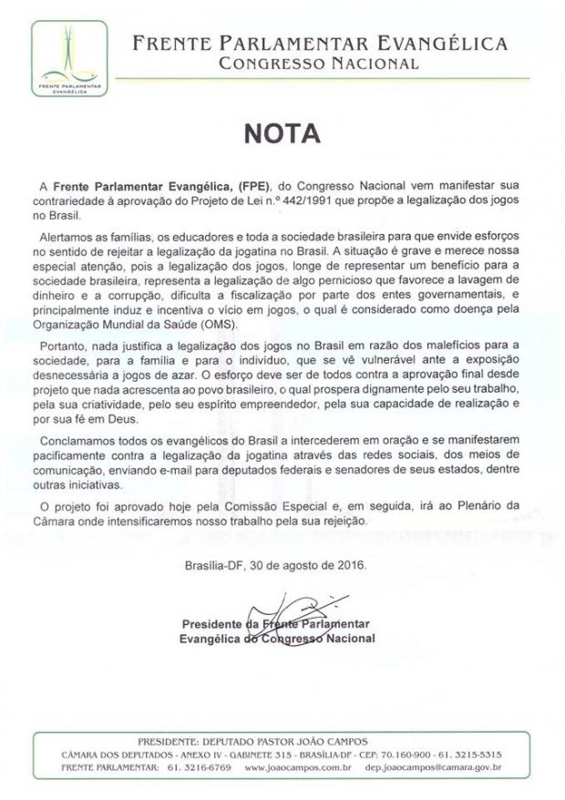 frente-parlamentar-nota