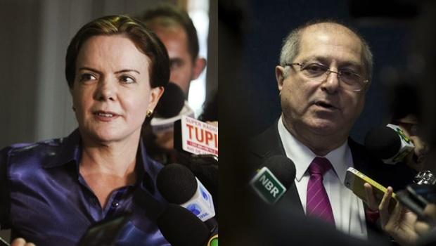 | Foto: Moreira Mariz/Agência Senado (Gleisi) e Marcelo Camargo/Agência Brasil (Paulo Bernardo)