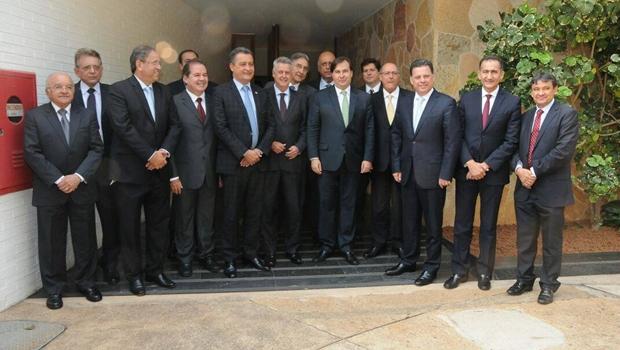 Fórum Permanente de Governadores se reúne com Rodrigo Maia | Foto: Reprodução/Facebook