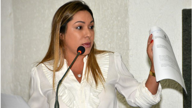 Luana apresenta projeto de lei sobre trabalho dos detentos