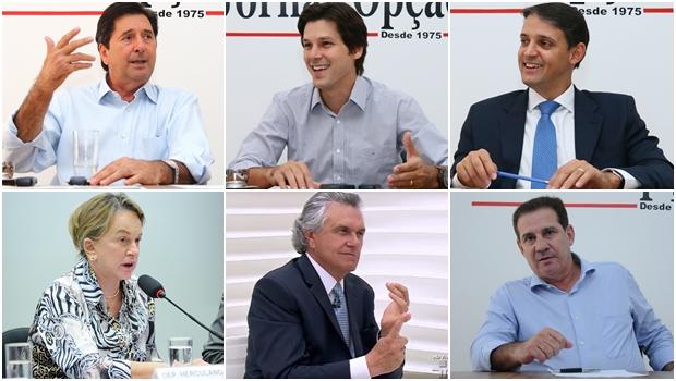 As forças políticas começam a desenhar um cenário complexo para a disputa do governo em 2018