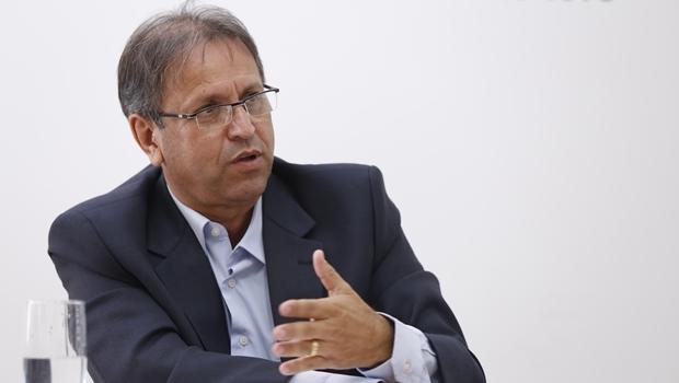 Governador Marcelo Miranda durante entrevista ao Jornal Opção | Foto: André Saddi