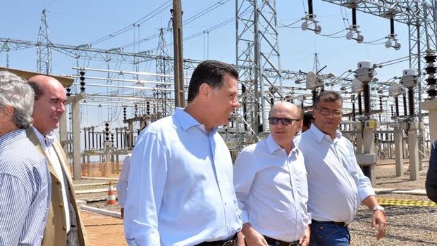 Em inauguração, Marconi critica política de diminuição da tarifa de energia do governo Dilma