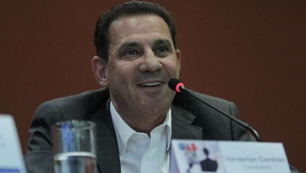 """Vanderlan Cardoso: """"Pesquisas mostram que estamos no caminho certo"""""""