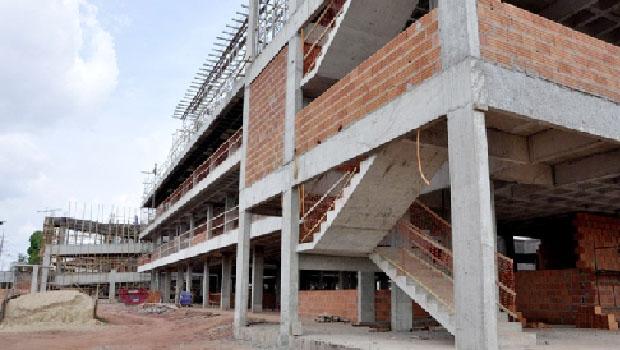 Obras do Fórum de Araguaína