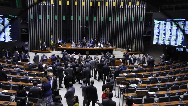 Sessão para análise e votação da Proposta de Emenda à Constituição (PEC) 241/16, que limita as despesas primárias da União ao que foi gasto no ano anterior corrigido pela inflação. Foto: Alex Ferreira/ Câmara dos Deputados