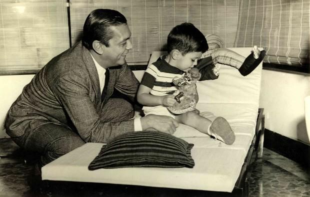 João Dória (pai) e João Dória Júnior | Foto: Álbum de família