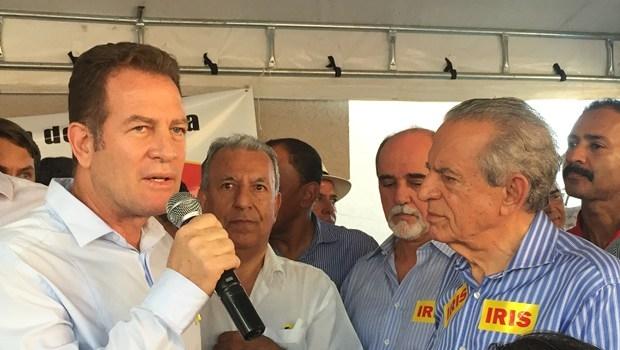 Major Araújo e Iris Rezende: o primeiro é conhecido como o novo Paulo Garcia