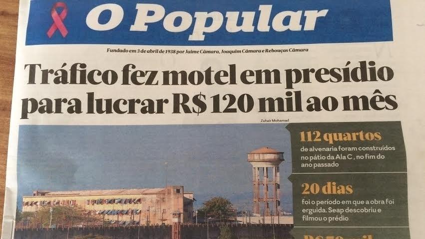 Traficante capitalista constrói motel com 112 quartos dentro de presídio. Kafka vive no Cerrado