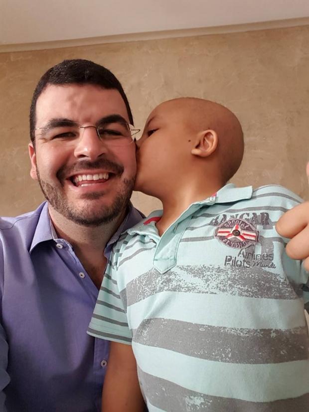 Rodrigão e Rodriguinho Carvelo: pai e filho | Foto:  Facebook do vice-prefeito de Catalão