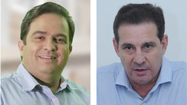 Roberto do Órion, em Anápolis, e Vanderlan Cardoso, em Goiânia: virar o jogo é difícil, mas longe de ser impossível