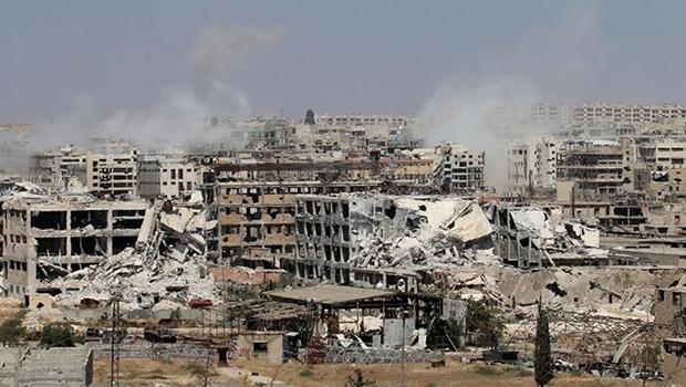 Cidade de  Aleppo está sendo destruída pelo exército sírio, que tem ajuda das forças russas | George Ourfalian/AFP