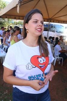 Enfermeira Amanda Melo: integração reduz o tempo do atendimento
