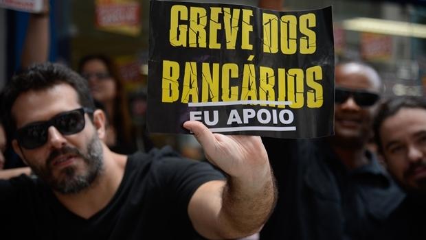 Funcionários da Caixa Econômica Federal permanecem de greve em três Estados | Foto: (Fernando Frazão/Agência Brasil