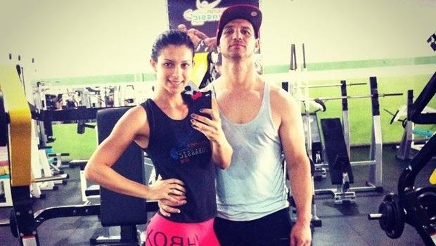 Casal dava aulas de musculação na academia do Jardim Curitiba | Foto: Reprodução / Facebook