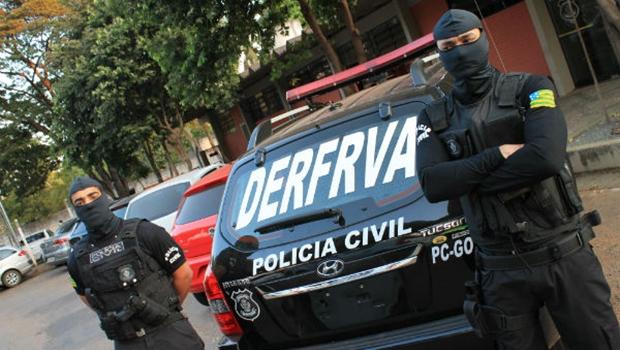 Polícia Civil recebe reconhecimento na Alego por repressão a roubos de veículos no Estado