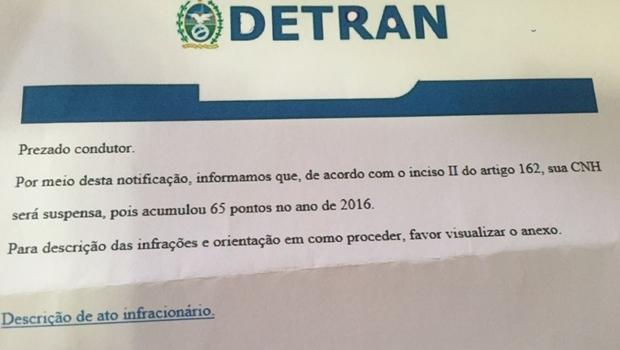 Diretor do Detran-GO alerta motoristas para e-mails falsos sobre suspensão de CNH