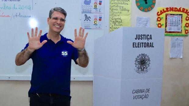 Candidato votou na manhã deste domingo | Foto: Reprodução