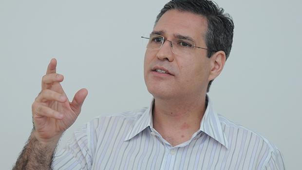 Francisco Jr (PSD) chegou a 9% dos votos em Goiânia com crescimento na reta final   Foto: Renan Accioly