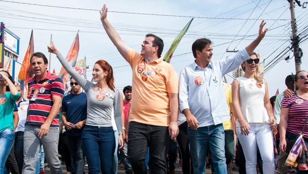 Candidato do PMDB, Gustavo Mendanha é eleito | Foto: Reprodução / Facebook