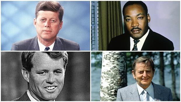John Kennedy, Martin Luther King, Bob Kennedy, americanos, e o sueco Olof Palme foram assassinados, mesmo sendo, três deles, homens muito poderosos. Oprimeiro era superprotegido por agentes altamente qualificados