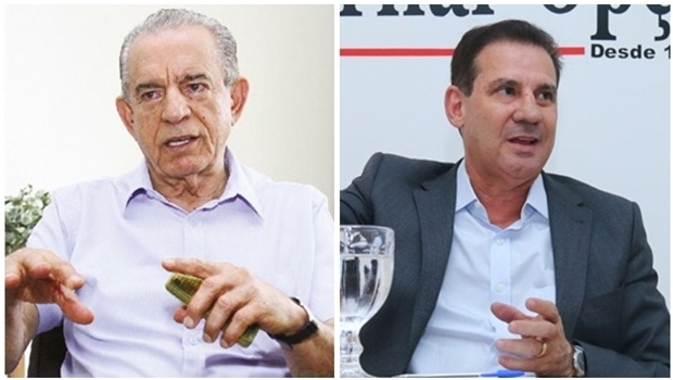 Iris Rezende e Vanderlan Cardoso disputam o 2º turno em Goiânia | Fotos: Fernando Leite e Renan Acciolly / Jornal Opção