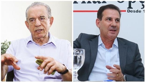 Vanderlan Cardoso diz que Iris Rezende guarda dinheiro para investir em ano eleitoral