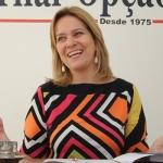 Na foto Leda Borges, Secretária da Mulher, Direitos Humanos e Trabalhos