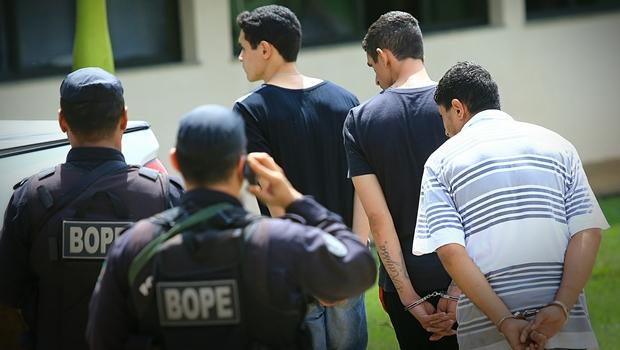 Ação começou na quinta-feira (13) e desarticulou quadrilha especializada em explosões a bancos | Foto: Wildes Barbosa