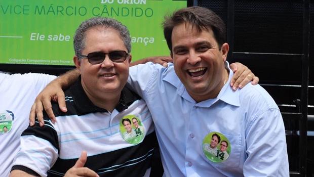 Prefeito Roberto Naves banca Márcio Cândido para deputado federal
