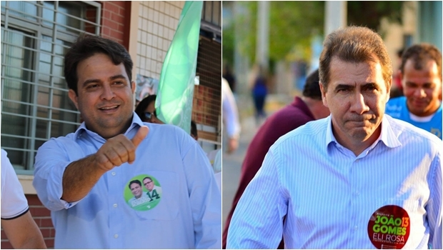 João Gomes e Roberto do Orion: o primeiro carrega o peso excessivo do PT e o segundo carrega a leveza de não ser político profissional