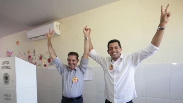 Thiago Albernaz e Vanderlan Cardoso | Foto: Divulgação