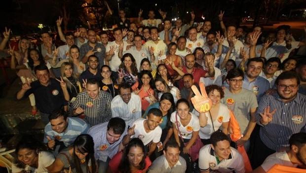 Juventude reunida na Praça Universitária | Foto: Leoiran