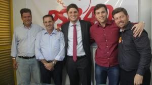 Lucas Calil e Lucas Kitão reforçam apoio a Vanderlan