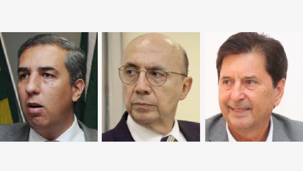 José Eliton, Meirelles e Maguito: um deles pode ser a aposta de Marconi para a disputa do governo