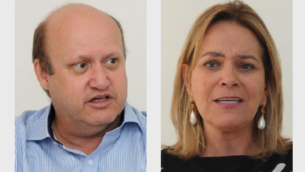 Lêda Borges e Célio Silveira devem terçar forças pelo comando político do Entorno do DF