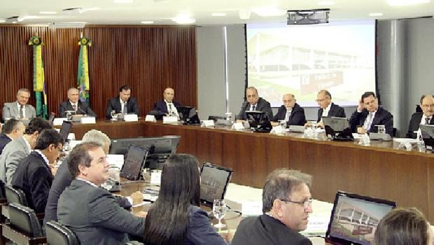 Reunião dos governadores com o presidente Michel Temer: alívio no caixa dos Estados e o Tocantins vai receber R$ 170 milhões   Foto: Divulgação