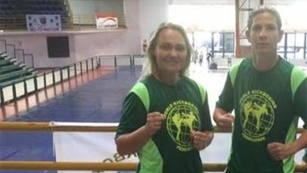 Atletas goianas conquistam dez medalhas de ouro em campeonatos nacionais de kickboxing