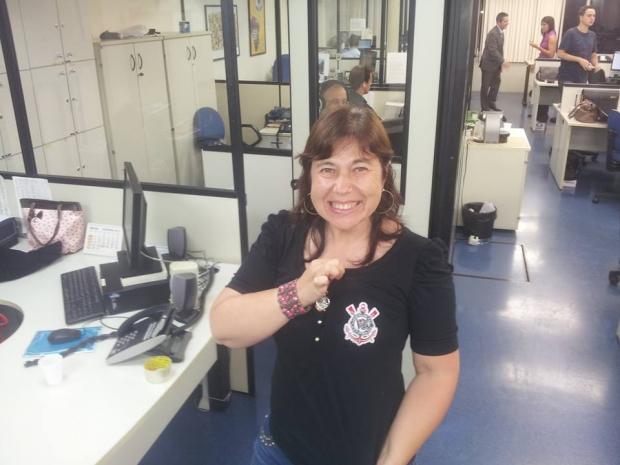 Cátia Toffoletto trabalhava na CNS em São Paulo, havia vários anos | Foto: De seu Facebook