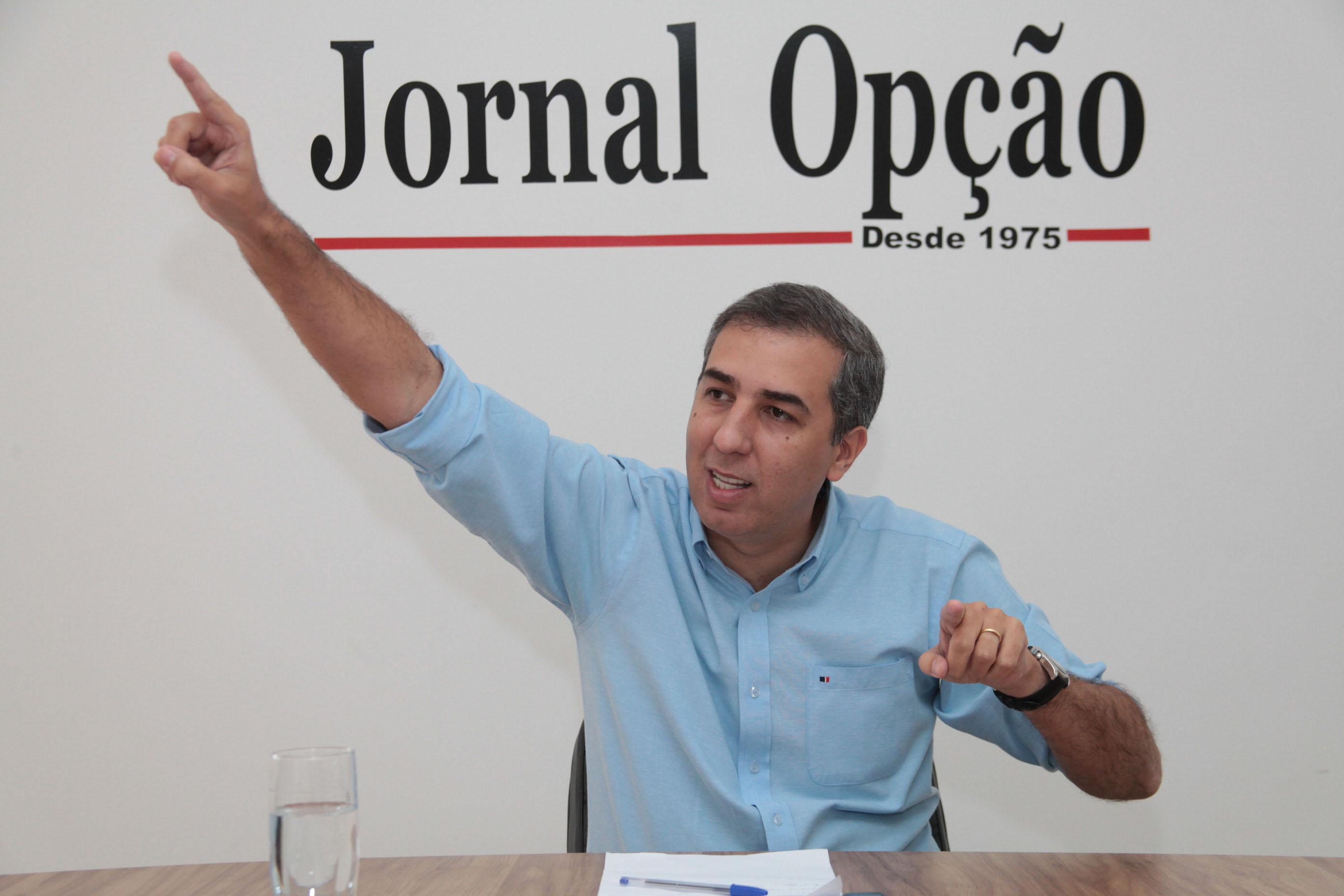 José Eliton vai governar Goiás durante quase todo o mês de janeiro
