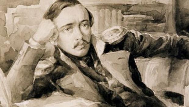 Russo de Pyatigorsk, Mikhail Liérmontov foi um dos grandes poetas e romancistas do país | Foto: Divulgação