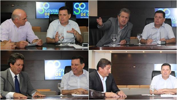 """""""Trabalhamos para aumentar nível de empregos em Goiás"""", garante Marconi"""