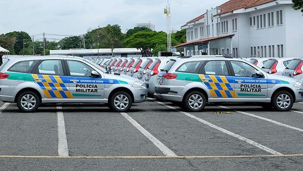 Governo de Goiás entrega 108 novas viaturas para as forças policiais