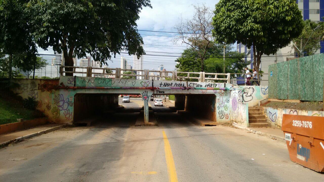Prefeitura ignora laudo do Crea e diz que não vai interditar viaduto no Jardim Goiás