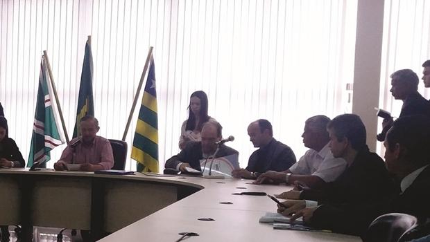Audiência pública na Câmara Municipal para discutir novas regras de outdoors e painéis de LED em Goiânia | Foto: Câmara Municipal