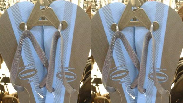 O mistério do vestido está de volta: Essa havaiana é preta e azul ou branca e dourada?