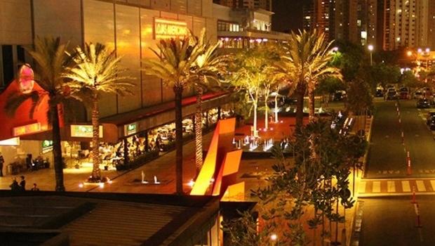 Área externa do Flamboyant Shopping Center | Divulgação