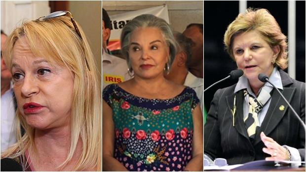 As três amazonas que querem representar Goiás no Senado