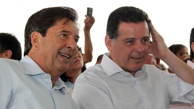 Maguito Vilela e Marconi Perillo conversam a portas fechadas. Tudo a ver com 2018