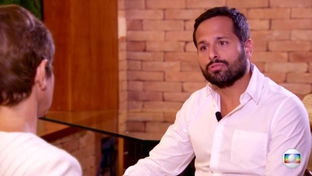 Marcelo Calero é entrevistado pela jornalista Renata Loprete | Foto: Reprodução / Youtube